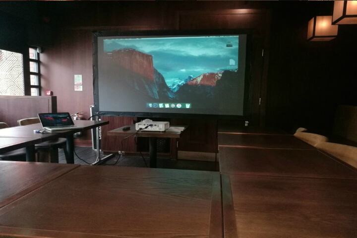 PROJECTOR & SCREEN HIRE